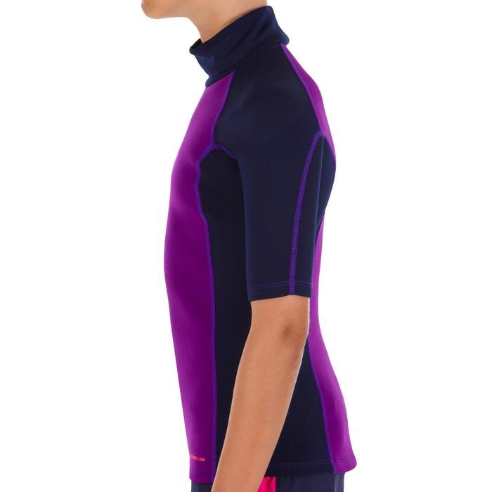tee shirt anti UV surf top néoprène thermique manches courtes enfant - 1087205