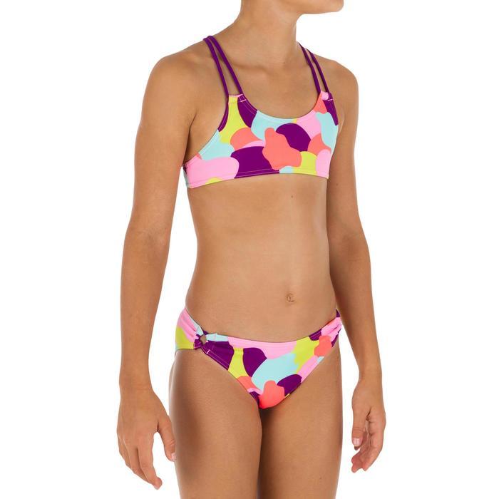 Bikini niña con sujetador top CAMOU