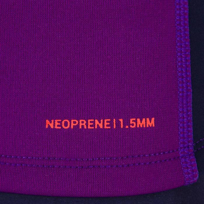 tee shirt anti UV surf top néoprène thermique manches courtes enfant - 1087287