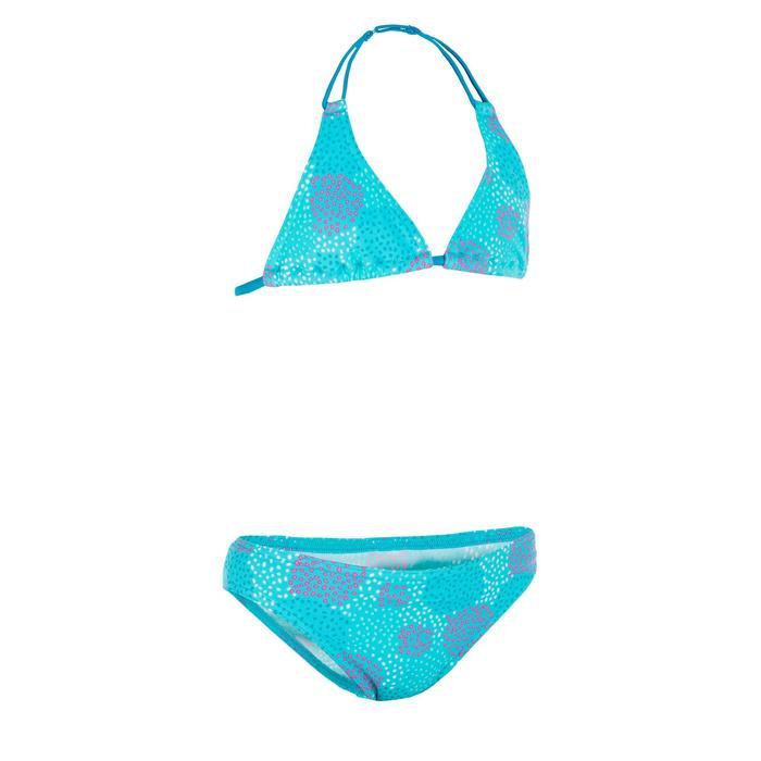 Maillot de bain 2 pièces fille triangle POMPON - 1087360