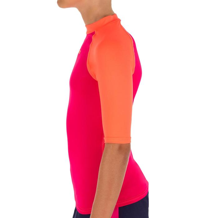 tee shirt anti uv surf top 100 manches courtes enfant - 1087455