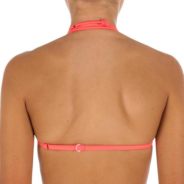Bikini-Set Triangel-Oberteil Pompon Mädchen neon