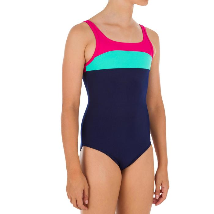 Bañador 1 pieza sport niña COLOR BLOCK