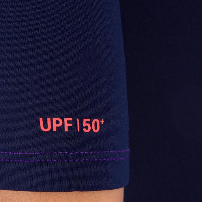 tee shirt anti UV surf top néoprène thermique manches courtes enfant - 1087535