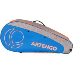 Sporttas voor rackets MB 530 lichtgrijs en blauw