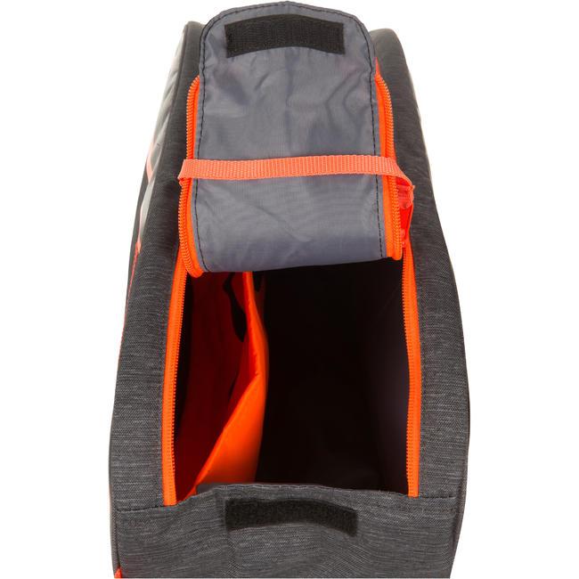 Tennis Bag 100 S - Grey/Orange