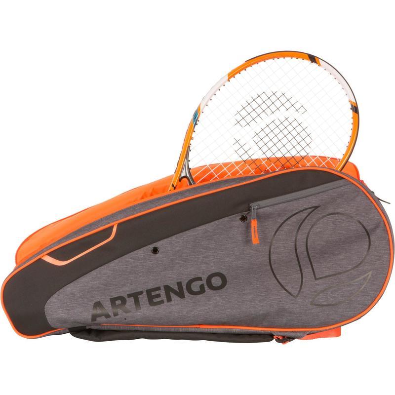 a0e717c5e7 Borsa sport con racchetta MB 530 grigio-arancione
