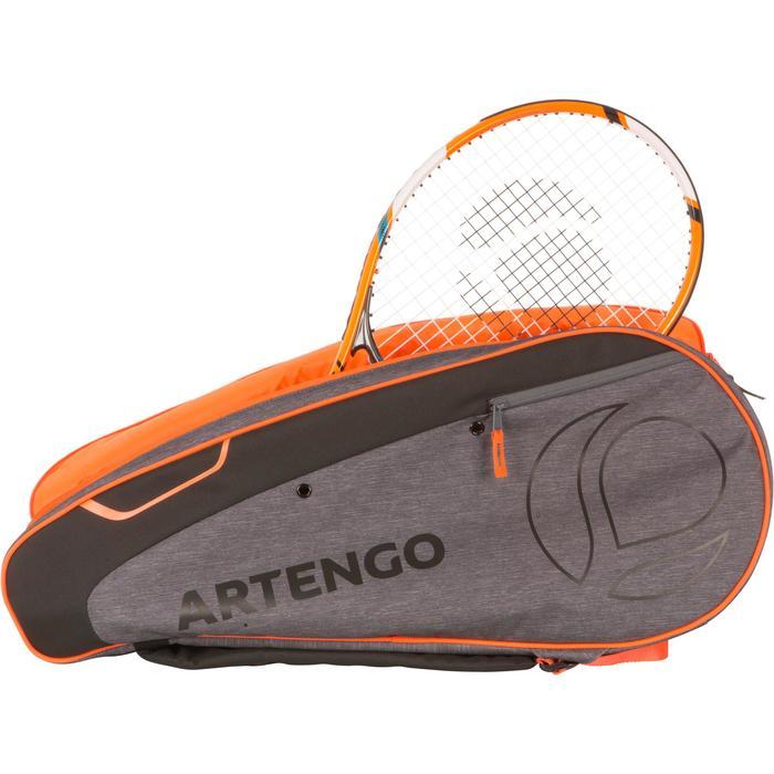 Tennistasche MB 530 Schlägertasche grau/orange