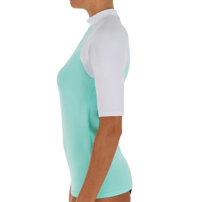 tee shirt anti uv surf top 100 manches courtes femme - 1088044