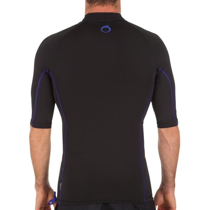 tee shirt anti uv surf top 500 manches courtes homme - 1088050