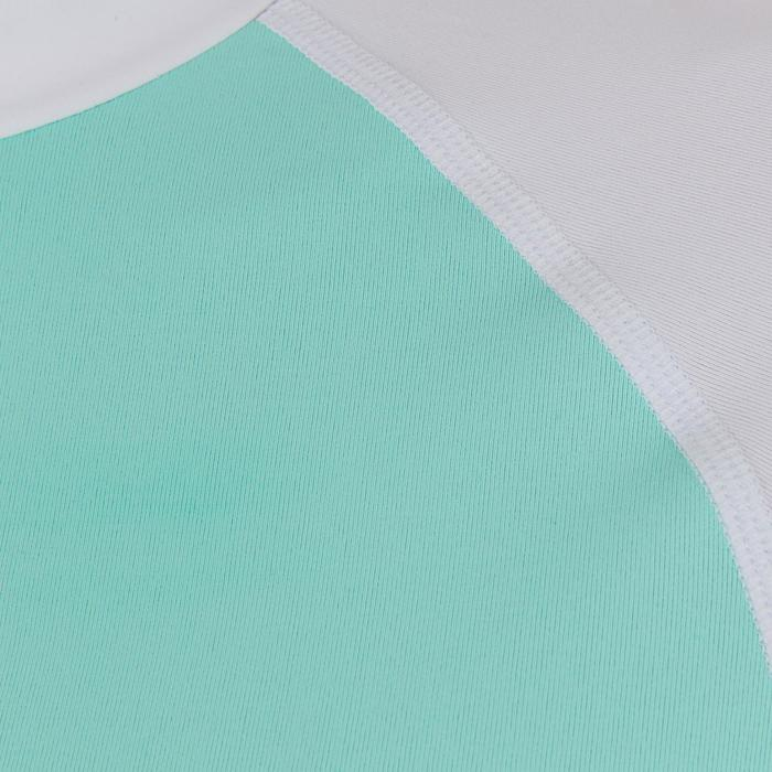 tee shirt anti uv surf top 100 manches courtes femme - 1088061