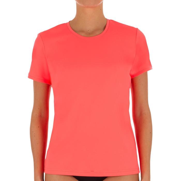 water tee shirt anti UV surf manches courtes femme - 1088118