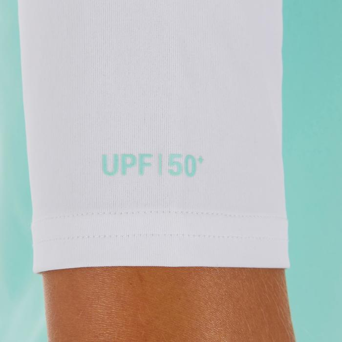 tee shirt anti uv surf top 100 manches courtes femme - 1088126