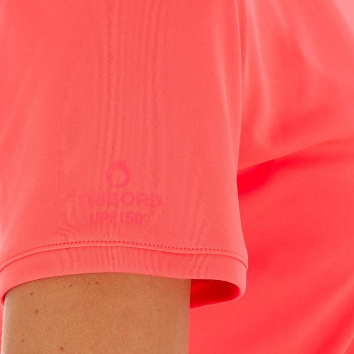 water tee shirt anti UV surf manches courtes femme - 1088142