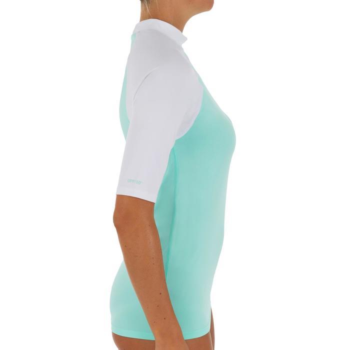 tee shirt anti uv surf top 100 manches courtes femme - 1088171