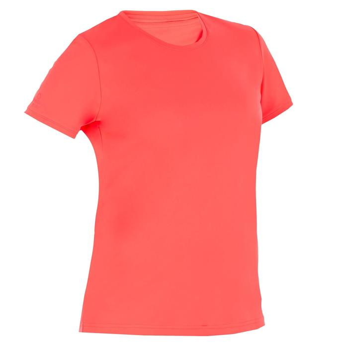 water tee shirt anti UV surf manches courtes femme - 1088185