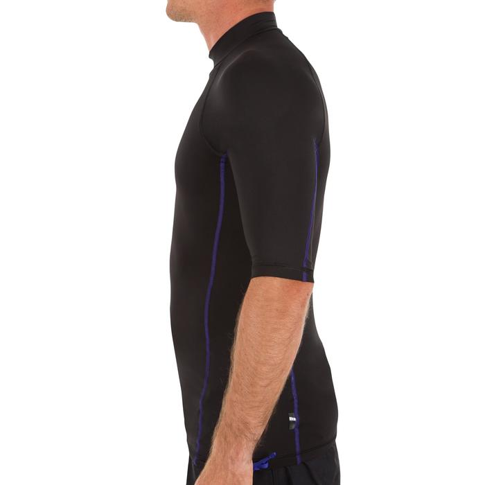 tee shirt anti uv surf top 500 manches courtes homme - 1088210