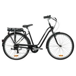 "E-Bike City Bike 28"" Elops 500E LF schwarz"