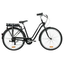 """E-Bike City-Bike 28"""" Elops 500 LF tiefer Einstieg schwarz"""