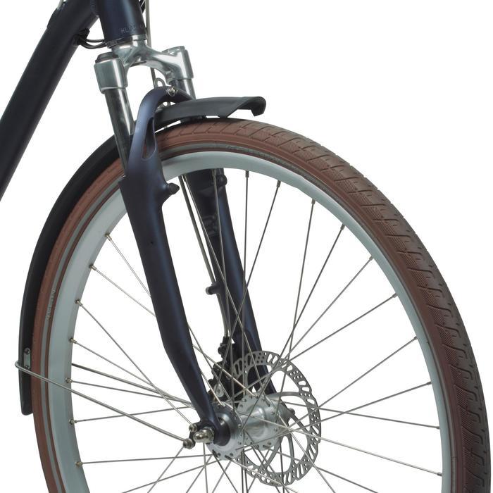"""City Bike 28"""" Elops 900 LF grau"""