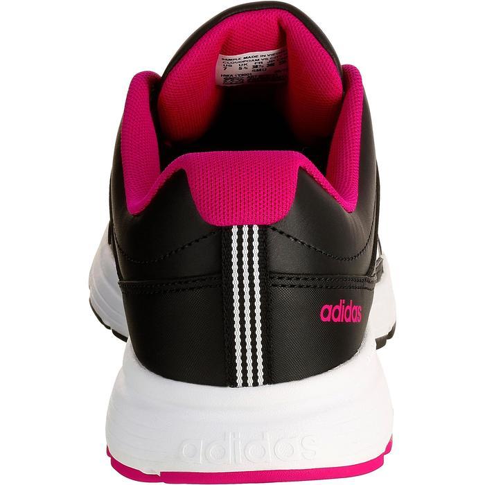 Chaussures marche sportive femme City noir / rose - 1088446