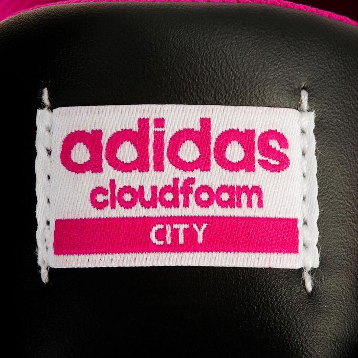 Chaussures marche sportive femme City noir / rose - 1088451
