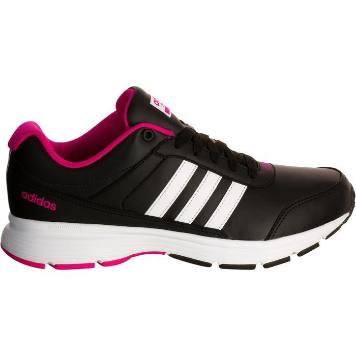 Chaussures marche sportive femme City noir / rose - 1088460
