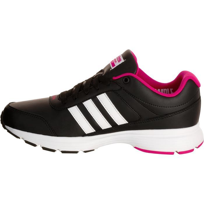 Chaussures marche sportive femme City noir / rose - 1088467
