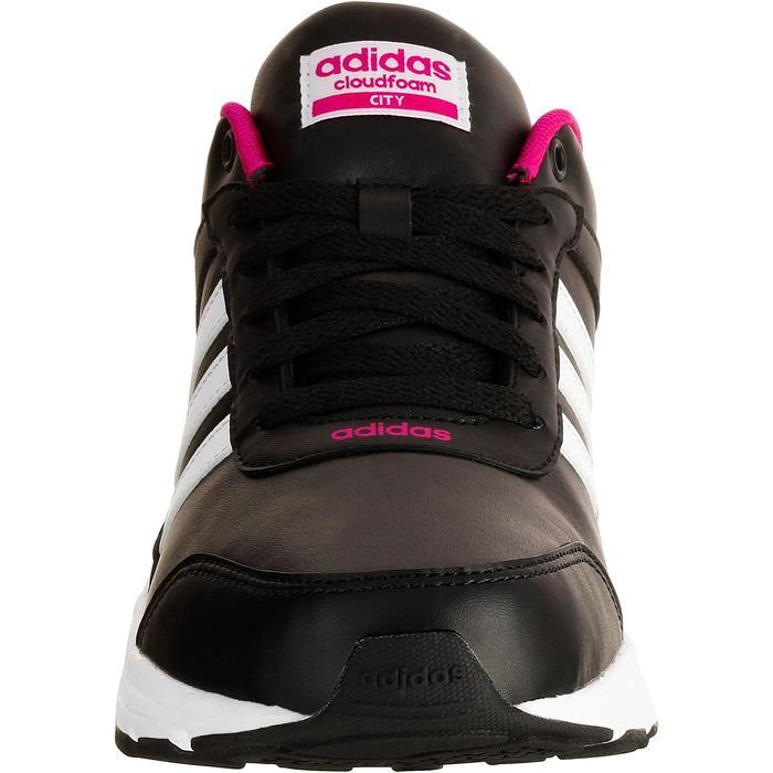Chaussures marche sportive femme City noir / rose - 1088488