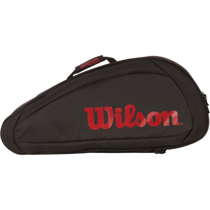 SAC SPORT DE RAQUETTES WILSON FEDERER TEAM 6R NOIR - 1088510