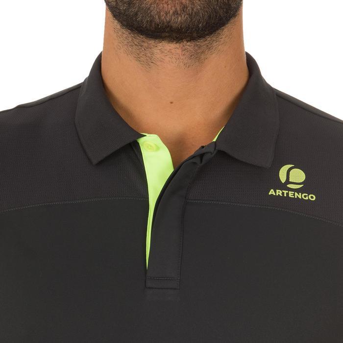 Poloshirt Dry 900 Tennispolo Herren grau