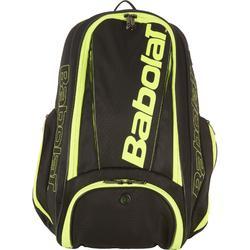 Tennis-Rucksack Aero Racketsports-Rucksack schwarz/gelb