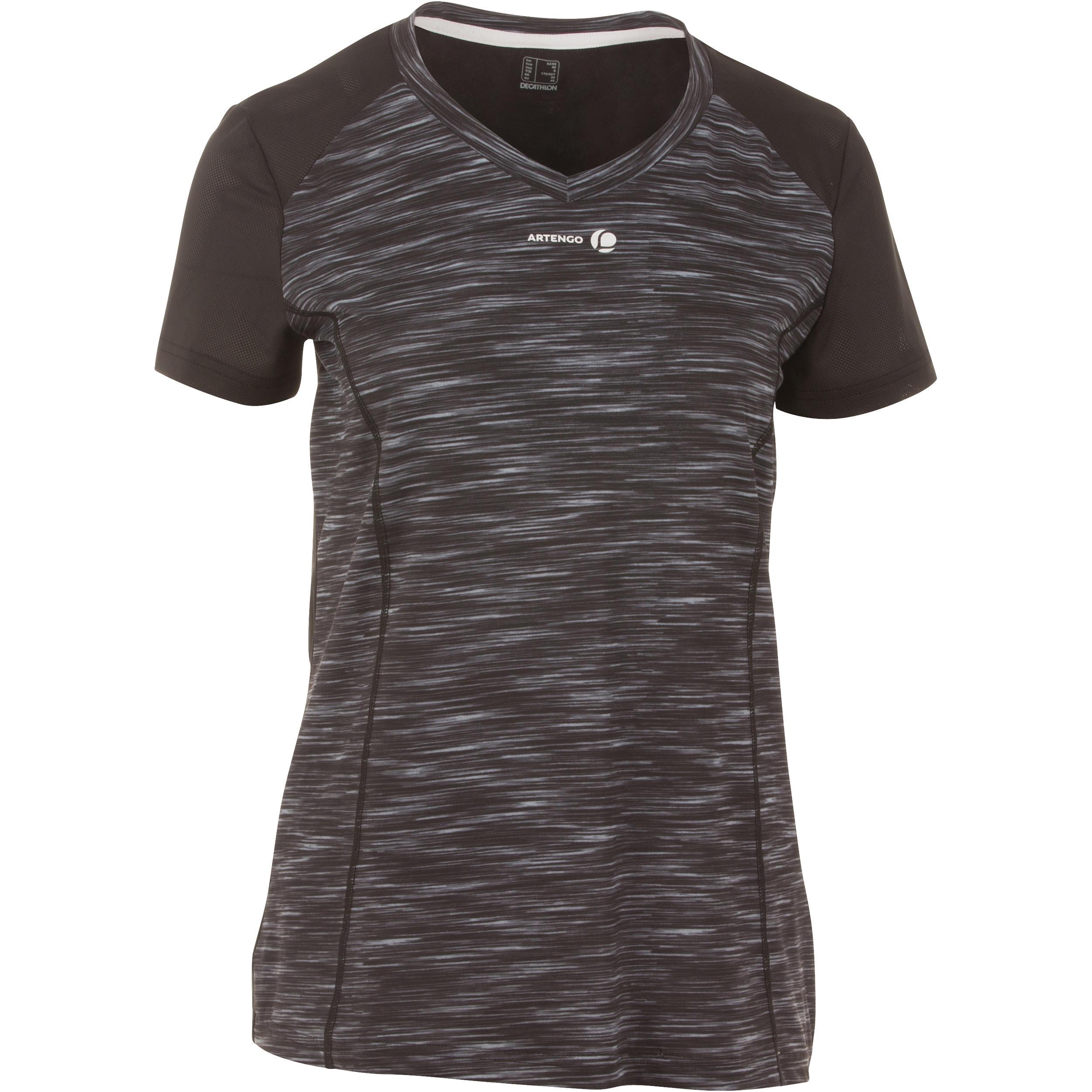 Artengo T-shirt voor dames Soft 500 tennis