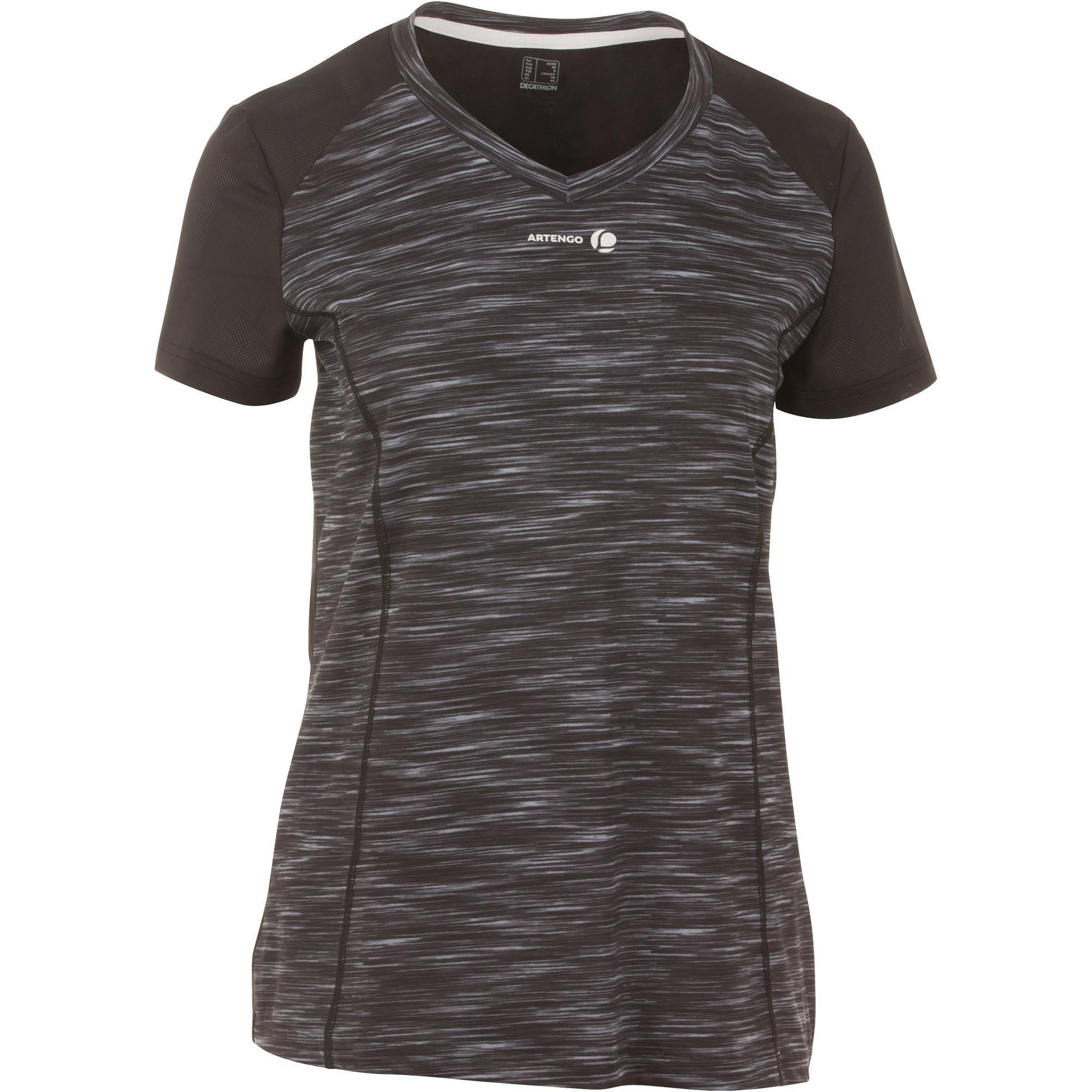 Artengo Tennis T-shirt voor dames Soft 500