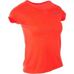 TOP DE TENNIS BADMINTON TENNIS DE TABLE PADEL SQUASH FILLE ROUGE