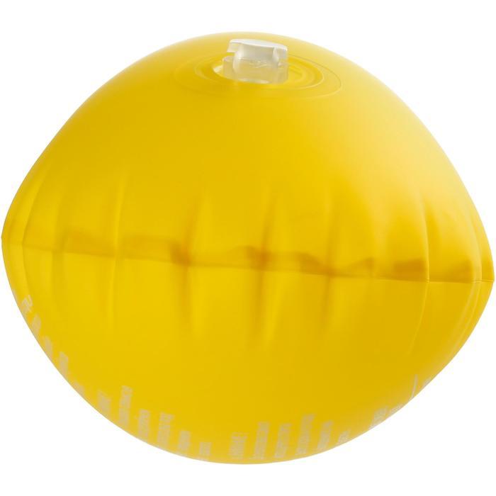 Aufblasbare Schwimmnudel Schnorcheln 100 gelb
