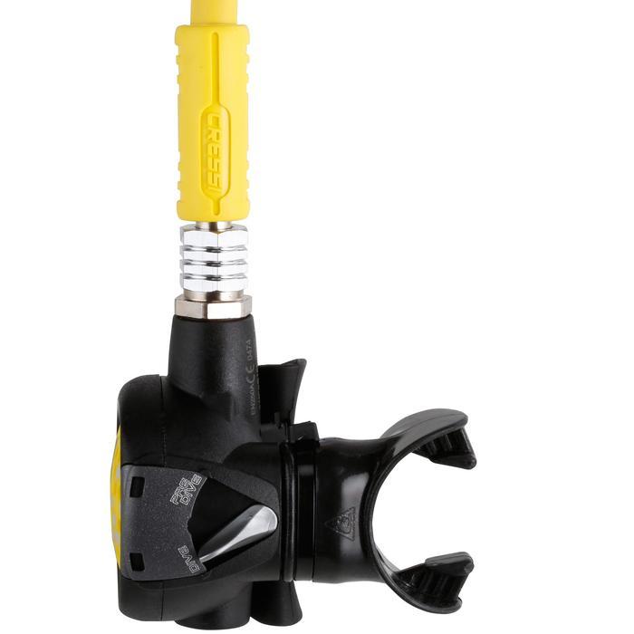 Pack détendeur de plongée compensé à membrane XS Compact MC9 avec octopus