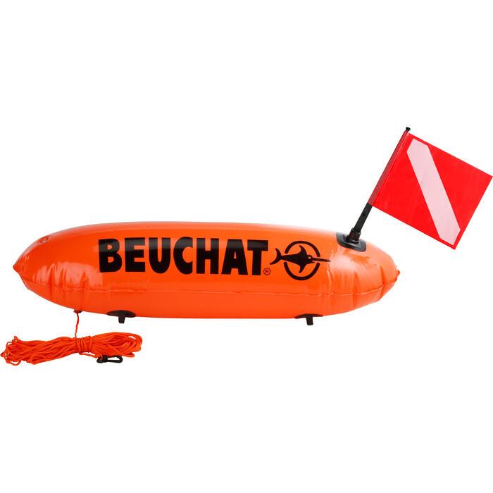 Boya larga inflable de pesca submarina