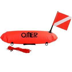Bóia de sinalização tubular de caça submarina Master Torpedo