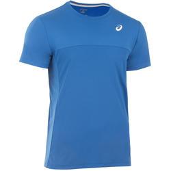 Sportshirt racketsporten heren Imperial blauw