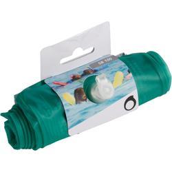 Aufblasbare Schwimmnudel Schnorcheln 100 grün