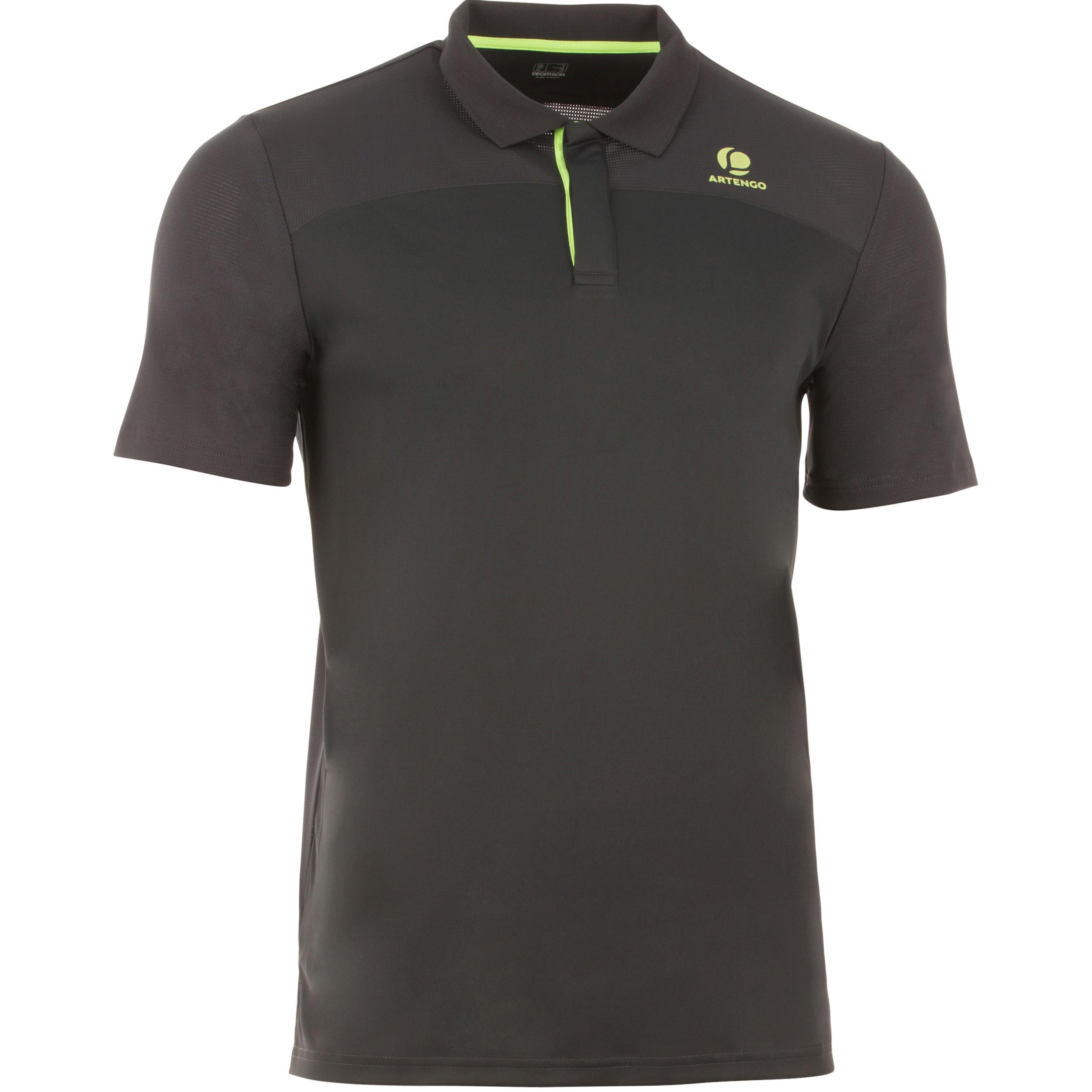 Polo T-Shirt - Tennis -Dry 900 Grey