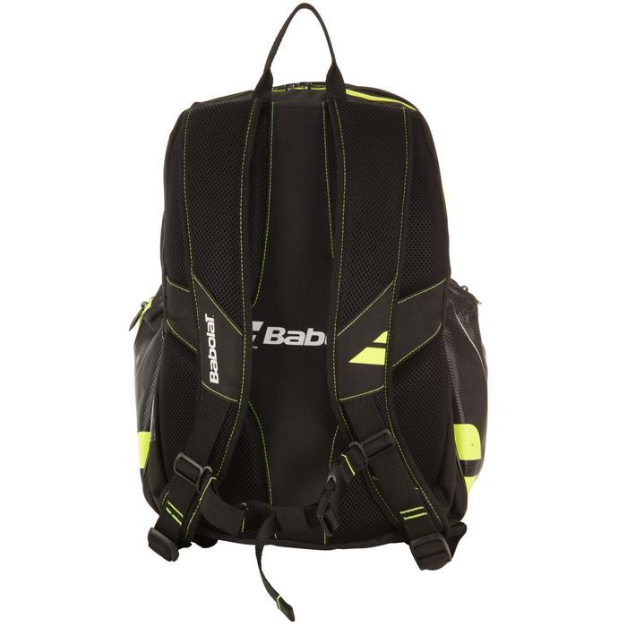 Sportrugzak voor rackets Aero zwart/geel