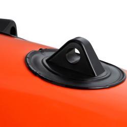 Bouée longue gonflable de chasse sous-marine