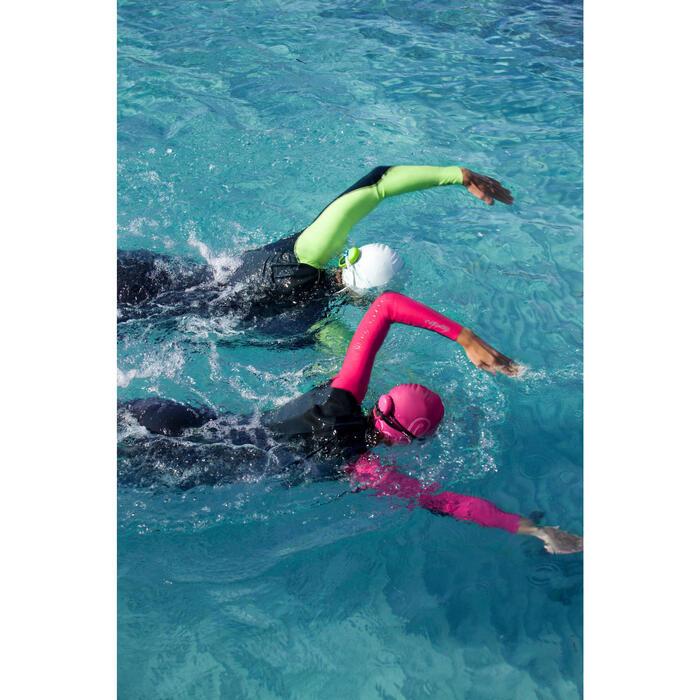 Traje de natación neopreno natación en aguas abiertas OWS100 1/0 mm hombre