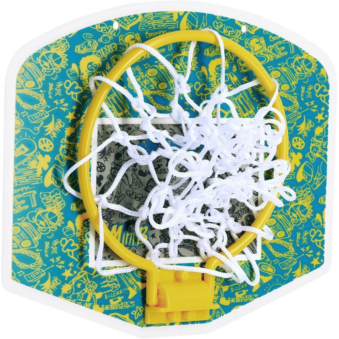 Mini panneau de basket enfant/adulte Set Mini B New York bleu. Ballon inclus. - 1089202