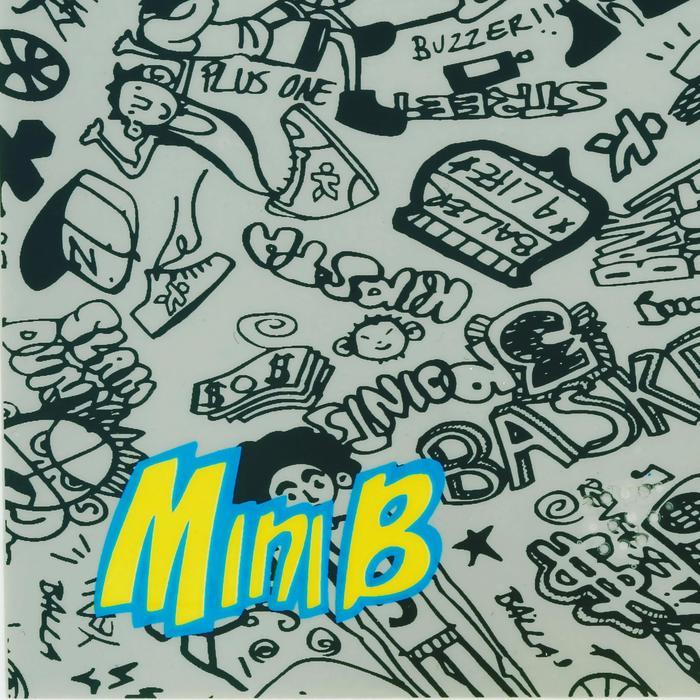 Mini panneau de basket enfant/adulte Set Mini B New York bleu. Ballon inclus. - 1089203