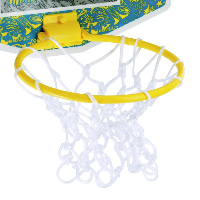 Mini panneau de basket enfant/adulte Set Mini B New York bleu. Ballon inclus. - 1089206