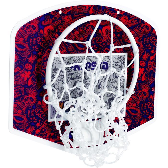 Mini panneau de basket enfant/adulte Set Mini B New York bleu. Ballon inclus. - 1089212