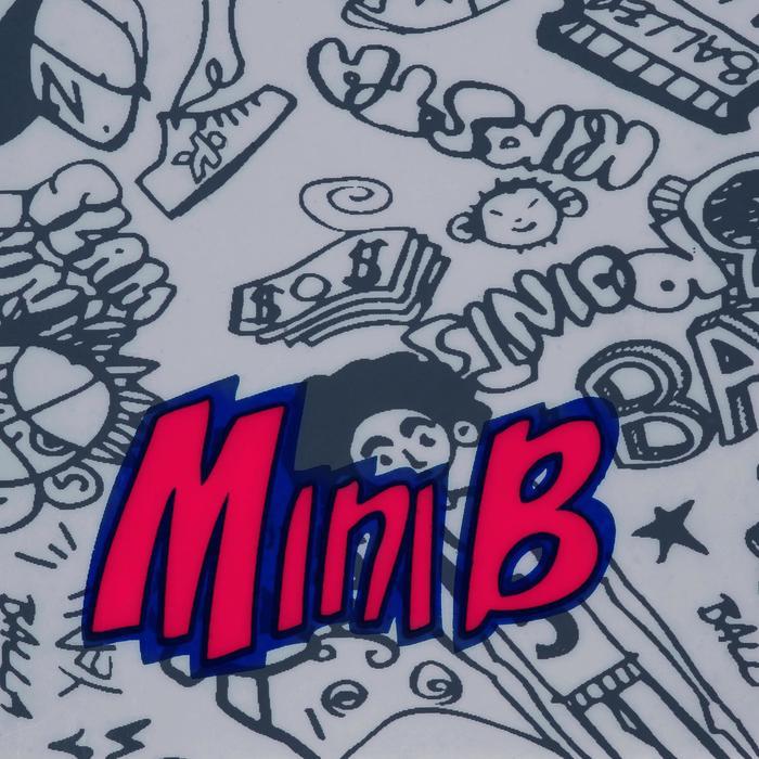 Mini panneau de basket enfant/adulte Set Mini B New York bleu. Ballon inclus. - 1089213